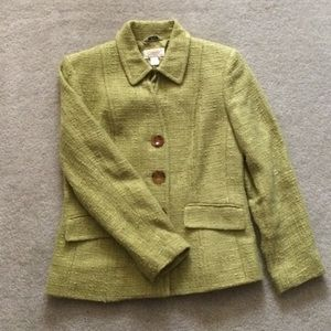 Talbots Green Blazer